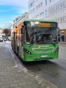 Buss fra selskapet Kolumbus